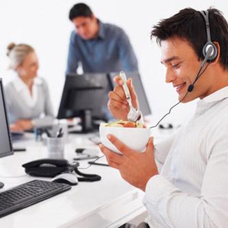 Fit am Arbeitsplatz durch vitale Ernährung